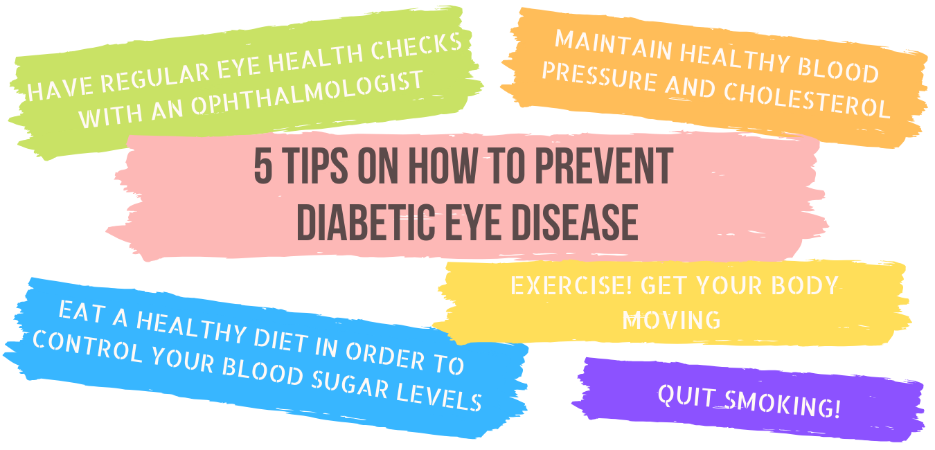 5 tips on how to prevent diabetic eye disease